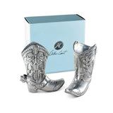 Cowboy Boot Salt & Pepper Set by Arthur Court