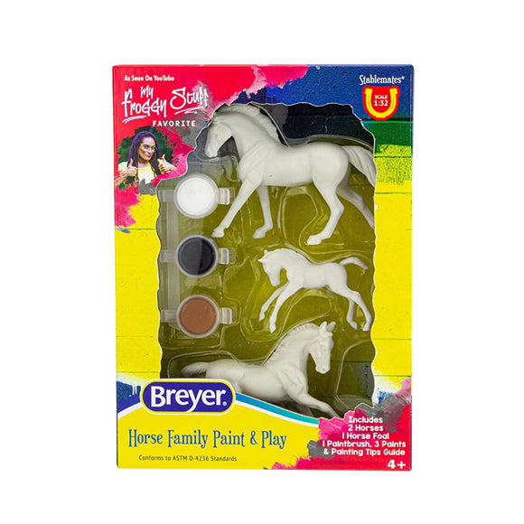 Breyer: Horse Family Paint and Play