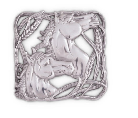 Horse Trivet By Arthur Court
