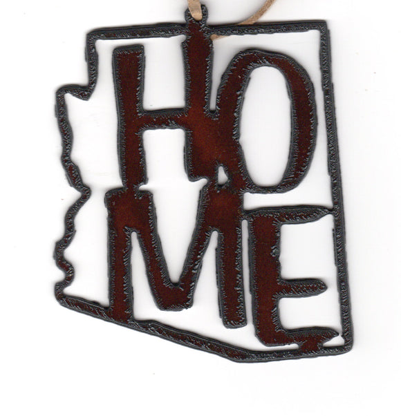 AZ Home Metal Cutout Ornament