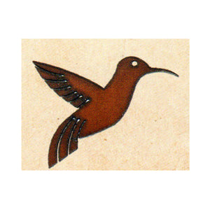 Hummingbird #1 Metal Cutout Magnet