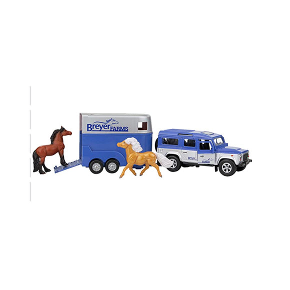 Breyer: Land Rover and Tag-A-Long Trailer
