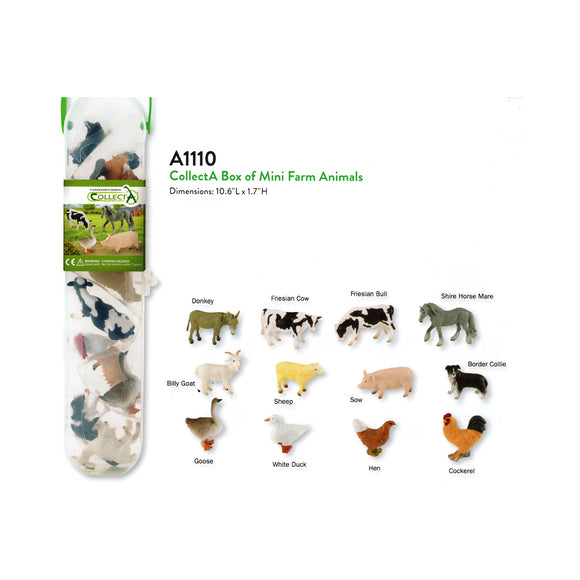 Miniature Farm Animals Collection