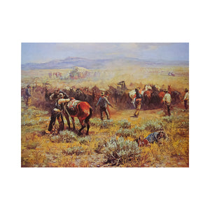 Noon Change of Horses by George Phippen