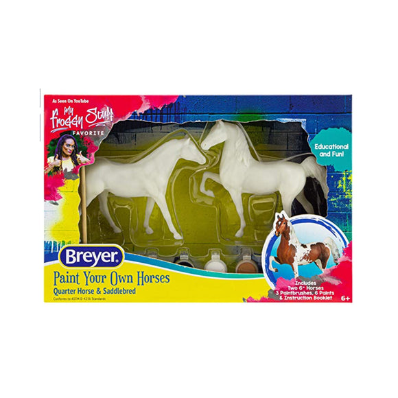 Breyer: Paint Your Own Horses