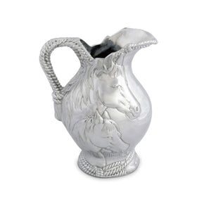 Horse & Rope Pitcher by Arthur Court