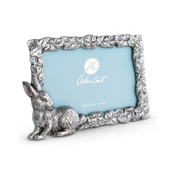 Bunny Photo Frame 4X6 by Arthur Court