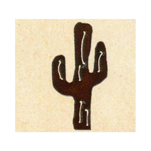 Saguaro  Metal Cutout Ornament