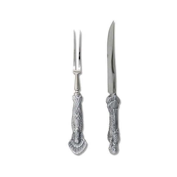 Turkey Carving Set by Arthur Court