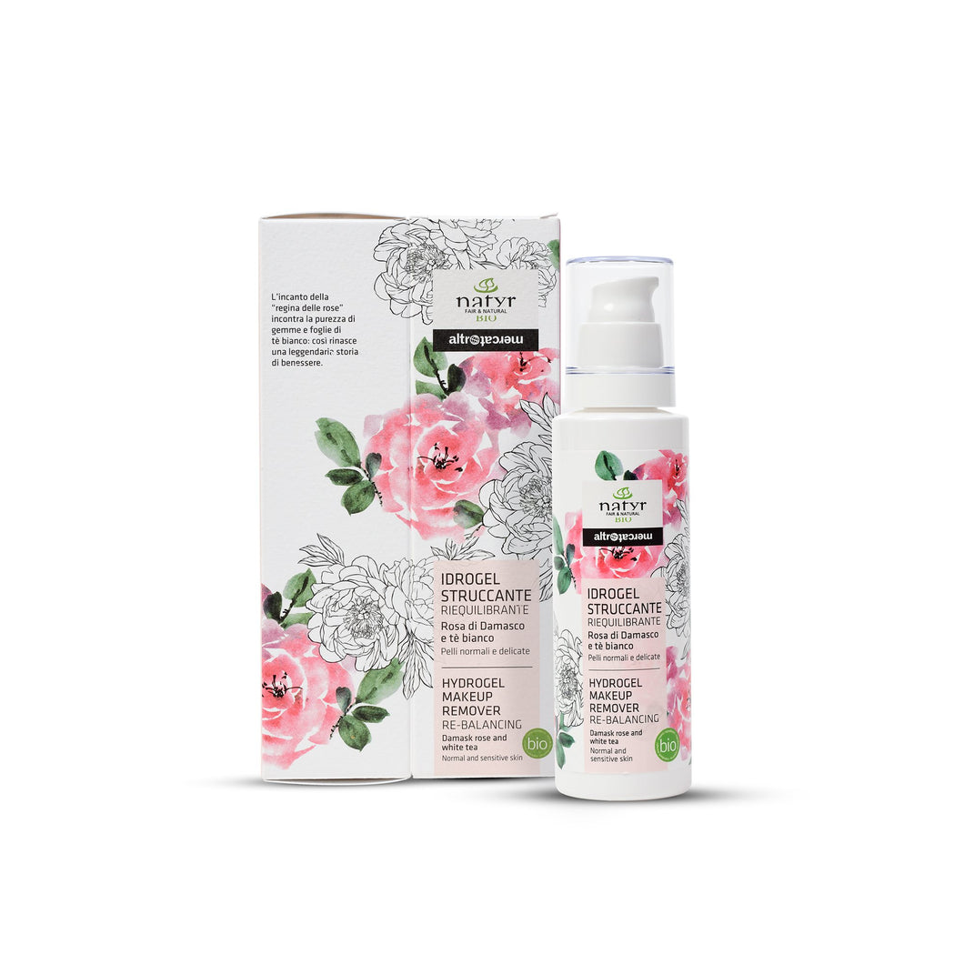 IDROGEL STRUCCANTE  - ROSA DI DAMASCO - BIO | 150 ml | COD. 10000117