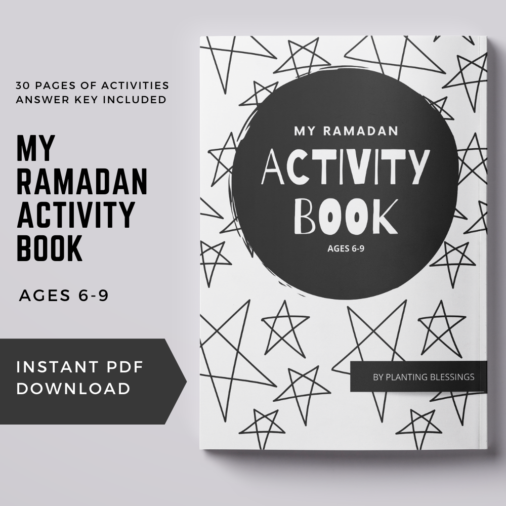Printable Ramadan Activity Book, Ages 6-9