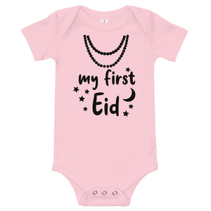Pearls 'My First Eid' Infant Onesie