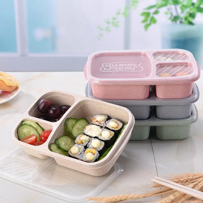 Sectioned Children's Lunchbox Container Bentobox