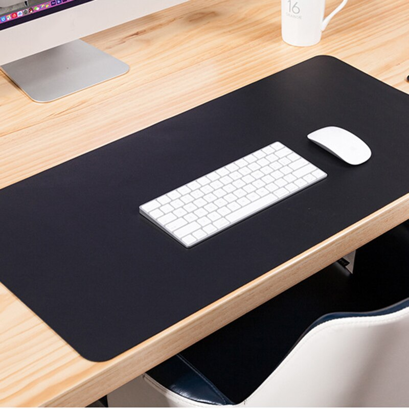 Large PU Leather Mousepad For Office Desk