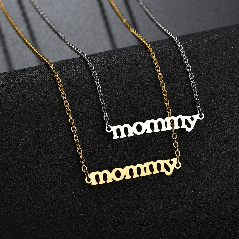Mommy Necklace, Baby Shower, Mothers Day