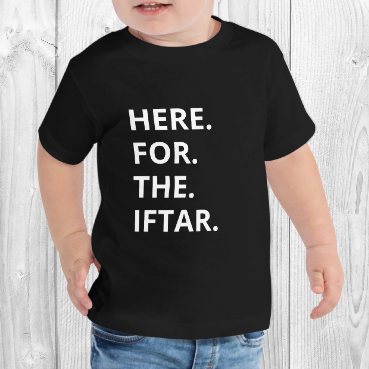 'Here for the Iftar' Toddler Tee