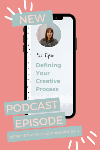 Defining Your Creative Process Podcast Pinterest Pin