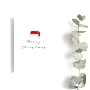 Merry Christmas - Santa Hat Card