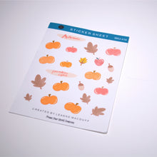 Load image into Gallery viewer, Pumpkin Spice Planner Sticker Sheets