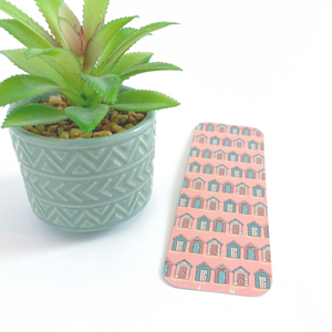 Beach Huts Print Bookmark