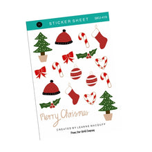 Load image into Gallery viewer, Merry Christmas Sticker Pack