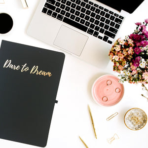 Dare To Dream - A5 Notebook