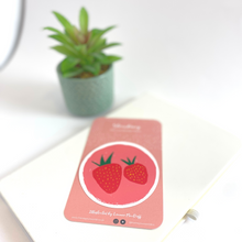Load image into Gallery viewer, Spotlight Strawberry Die Cut Sticker