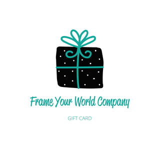 Frame Your World Gift Card