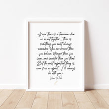 Load image into Gallery viewer, Winnie The Pooh Friendship Quote Print