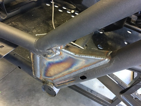 Can Am X3 2 seat Weld in frame gussets