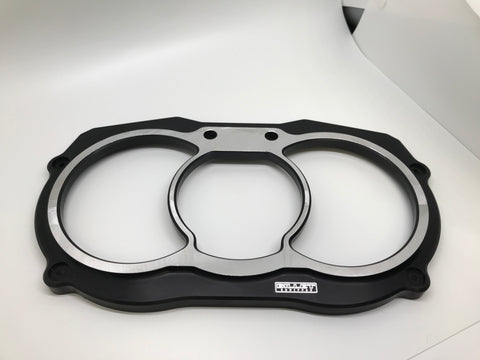 Billet Equipped Can Am X3 bezel