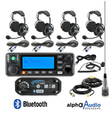 Rugged Radios RRP696  Intercom with Digital Mobile Radio With alpha audio