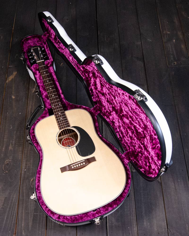 Calton Dreadnought Case, White and Purple