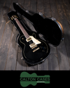 Calton Les Paul Case, Aged Copper Sparkle, Black