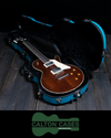 Calton Les Paul Case, Teal, Black