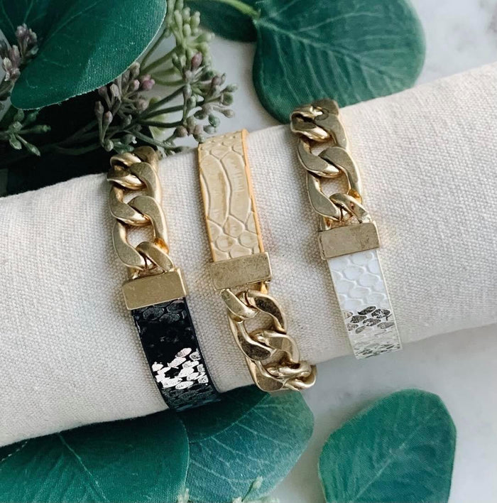 Chain Magnetic Bracelet- 3 Colors Available
