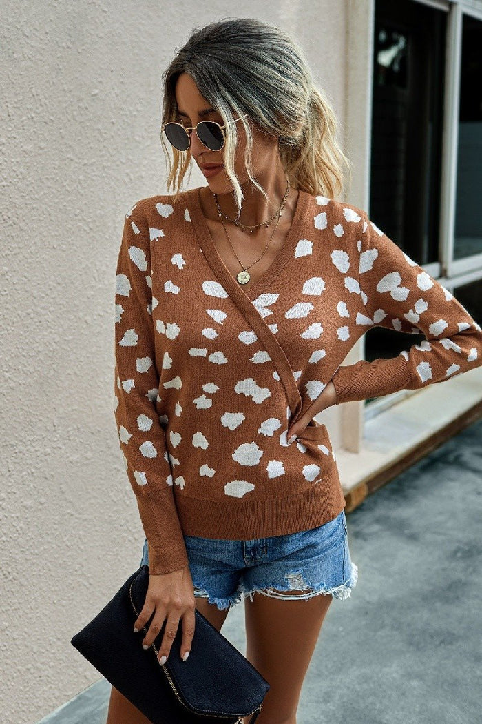 Rust Spotted L/S Top