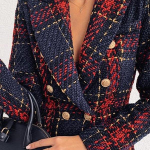 Navy & Red Blazer