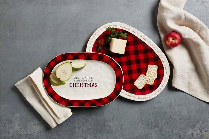 Christmas Plates- Set of 2