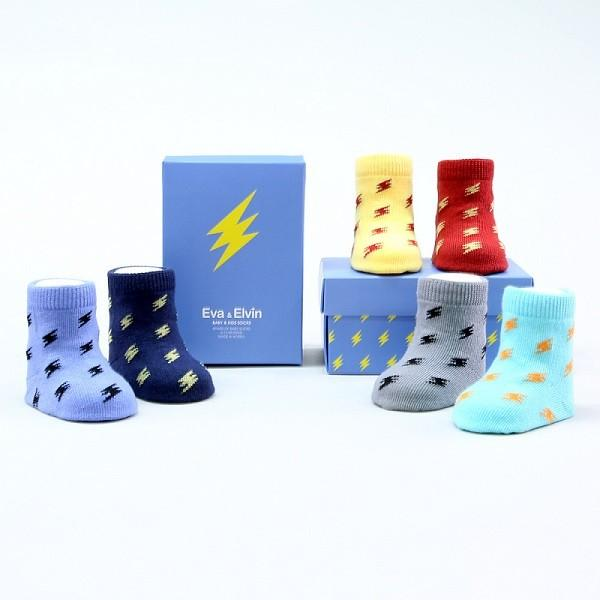 6 Pack of Bolt Socks