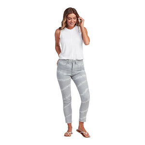 GRAY TIE DYE RORY JEANS