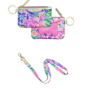 Lilly Pulitzer Lanyard Set (4 colors to choose from)