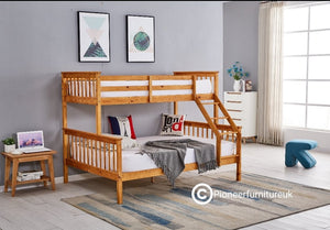 Triple Sleeper Bunk Bed Double 4ft Single 3ft
