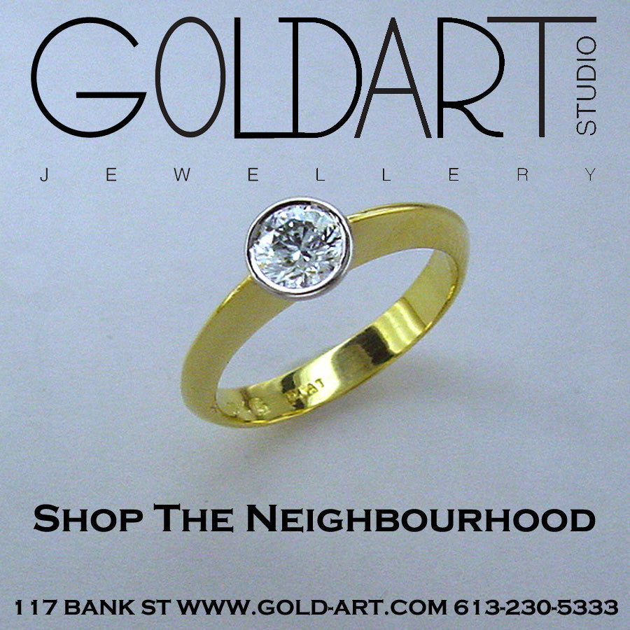 Join Goldart at Shop the Neighbourhood! #ShopTheHood