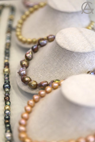 Goldart Natural South Sea Pearl Necklaces
