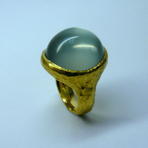 Mango Moonstone Ring