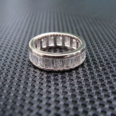 Baguette Cut Diamond Eternity Band