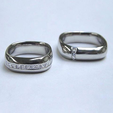Matching Platinum Wedding Bands