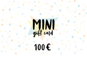 MINI Gift card, value of 100 euro