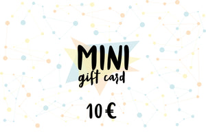 MINI Gift card, value of 10 euro